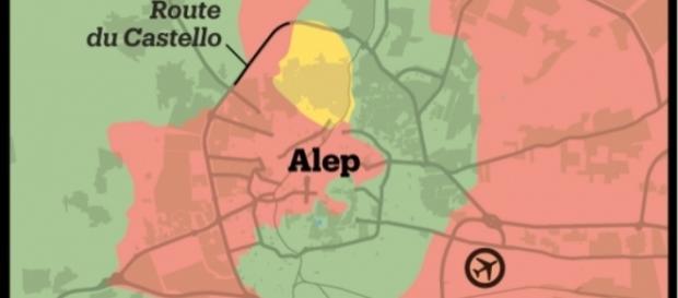 Alep est en proie à une des batailles les plus violentes et sanglantes de Syrie, où Russie et Armée loyaliste ont adopté une stratégie d'encerclement.
