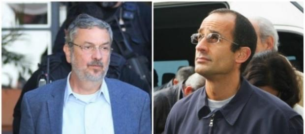 Antônio Palocci e Marcelo Odebrecht presos