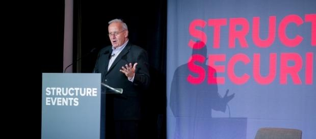 Art Coviello, former RSA chief, addressed the security world this week. Photo via Structure Events.