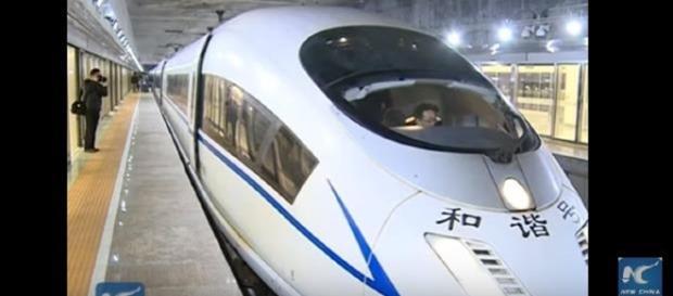 Asia's largest underground railway station - S. China / Photo screencap by New China Tv via Youtube.com