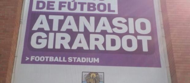 Das Fussballstadion in Medellín