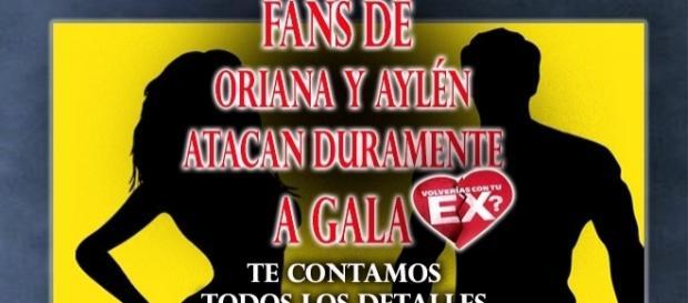 Fans atacan a Gala Caldirola por su amor