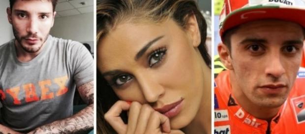 Gossip: Stefano De Martino incontra Belen Rodriguez e Andrea Iannone a Milano.
