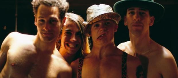 I Red Hot Chili Peppers al tempo del videoclip di Gus Van Sant