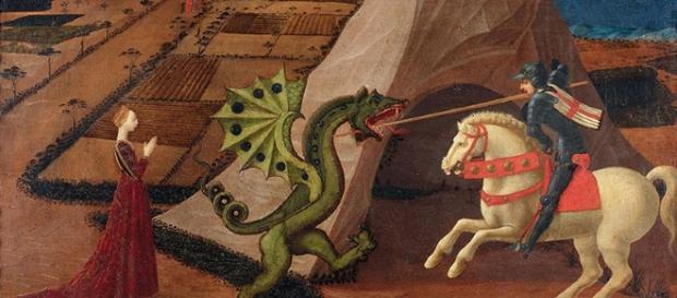 "Paolo Uccello ""San Giorgio e il Drago"" 1440 circa."