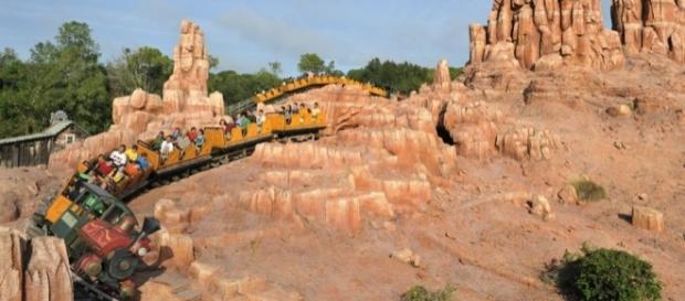 Passeios pela Big Thunder Mountain Railroad ajudam a eliminar pedras nos rins