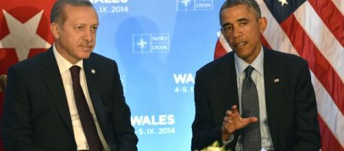 Barack Obama e Recep Tayyip Erdogan si incontreranno domani in Cina