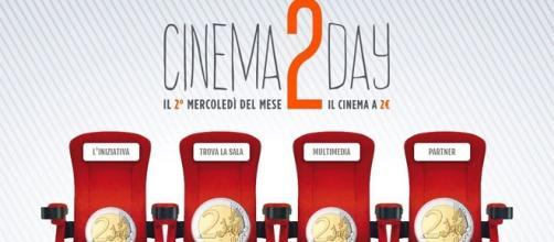 Cinema2Day: da settembre al cinema a 2 euro