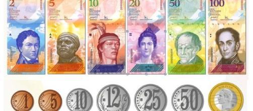 Cono monetario venezolano desde el 1 de enero 2008