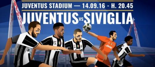 Dove vedere Juventus-Siviglia in streaming e in diretta tv, Champions League 14/9