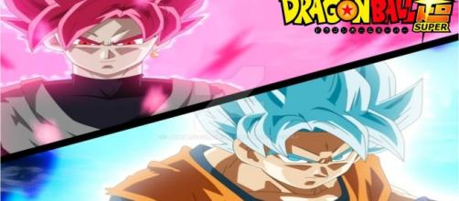 GOKU FASE ROSE VS GOKU BLUE DBS