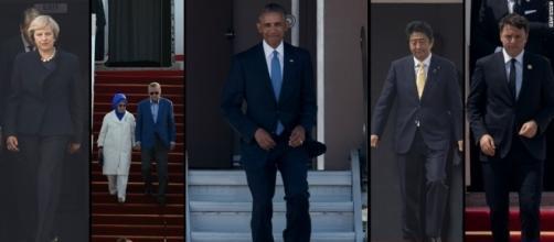 No Red Carpet Treatment For Obama! Photo: Blastin News Library - thebassbarn.com