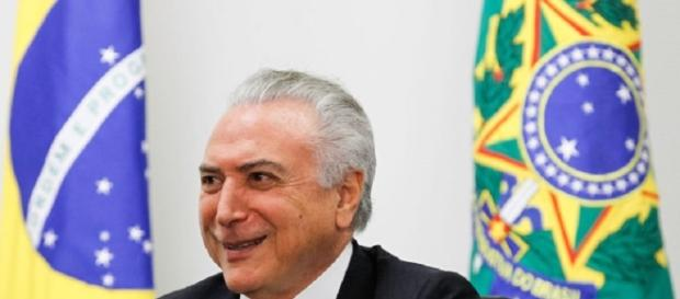 O novo presidente do Brasil, Michel Temer
