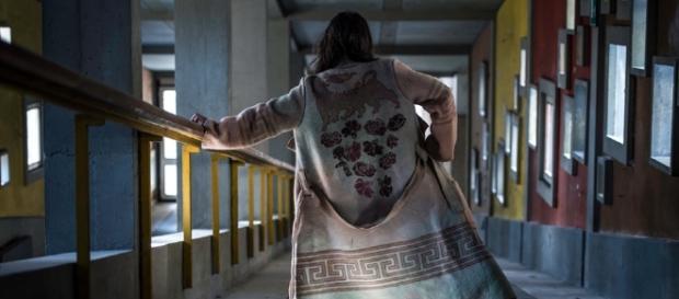 Cappotto realizzato da coperta Lanerossi marchiata Eni, foto Dolomiti Contemporanee