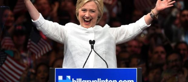 Hillary Clinton Makes History, Declares Victory in Presidential ... - people.com