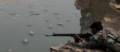 Canale di Hormuz. Immagine da web