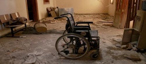 Immagine fornita dal web AFR Ospedale Aleppo