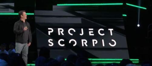 Microsoft annuncia Project Scorpio all'E3 2016.