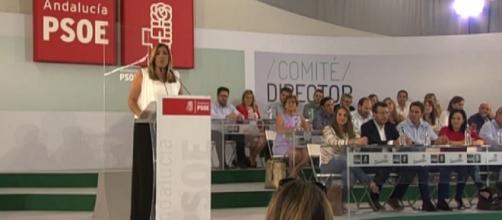 Susana Díaz en Andalucía este jueves