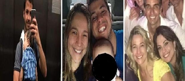 Foto Montagem: Gentil confirmou namoro com outra mulher