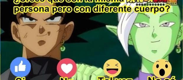 Goku black y zamasu son las misma persona, solo con diferente cuerpo