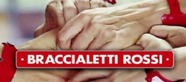 Il logo dei Braccialetti Rossi