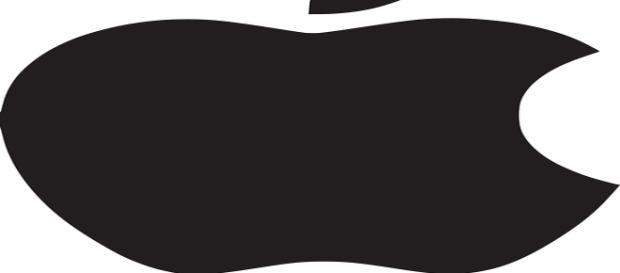 Il simbolo dell'azienda americana Apple.