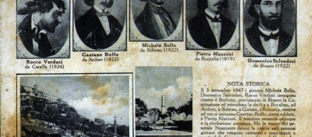 Commemorazione dei cinque martiri di Gerace - inaspromonte.it