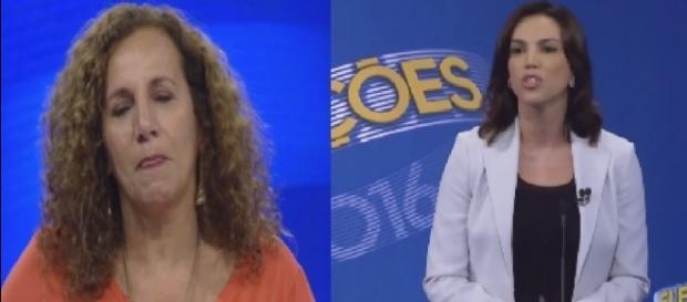 Jandira e Ana Paula Araújo - Foto/Montagem