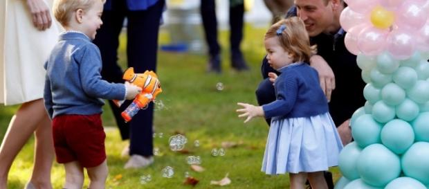 Kate e William in Canada: quanti giochi con George e Charlotte ... - webdigital.hu