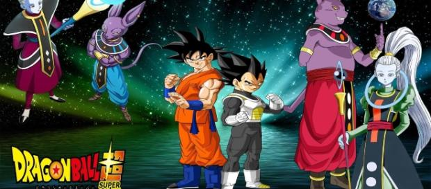 los dioses y los saiyajins dragon ball super