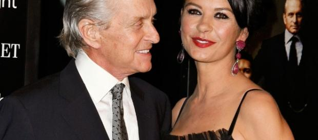 Michael Douglas and Catherine Zeta-Jones Celebrate 15th Wedding ... - eonline.com
