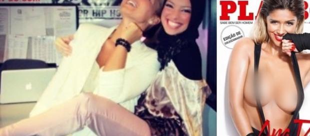 Noor Tagouri, jornalista muçulmana cria polêmica ao posar para Playboy