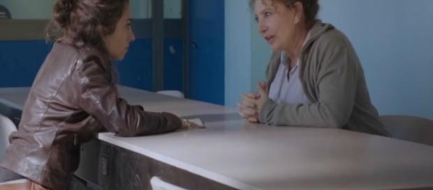 Rosalia in carcere a far visita alla propria madre