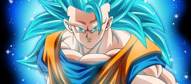 Son Goku SS3 Blue / Photo creative commons via Wikipedia