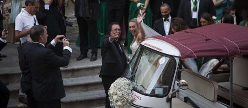 Cristel Carrisi matrimonio da favola, 500 vip invitati,Lecce ... - baritalianews.it