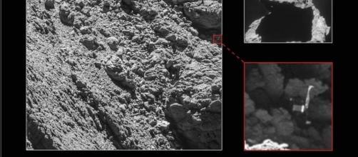 Il ritrovamento di Philae grazie alla sonda Rosetta