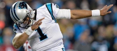 Is Cam Newton Getting Delusional? Poses in Front of Ali Photo to ... - thebiglead.com