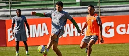 Magno Alves se igualou a Washington como nono maior artilheiro da história do Fluminense no sábado (Foto: Arquivo)