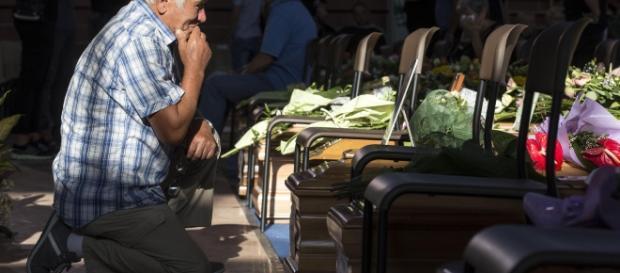 Autorităţile italieni au încurcat decedaţii - foto libertatea.ro