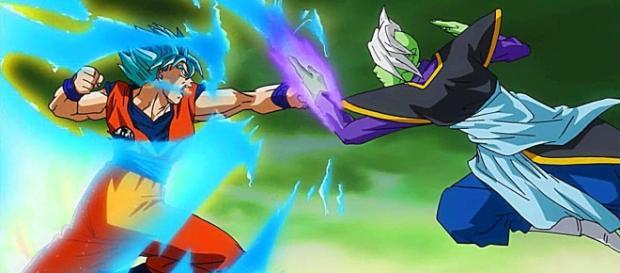 combate de goku contra zamasu en el futuro