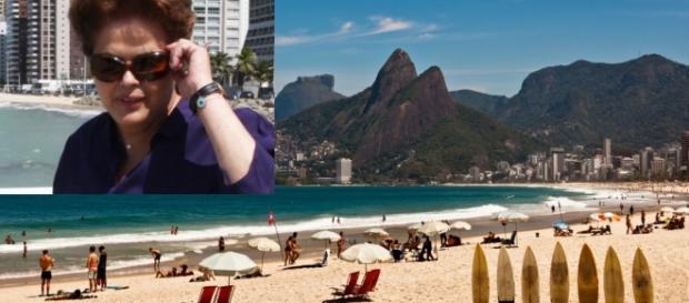 Dilma Rousseff passará temporada em Ipanema