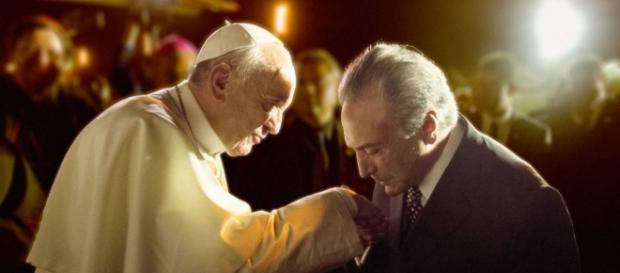 Papa lamenta momento político do Brasil