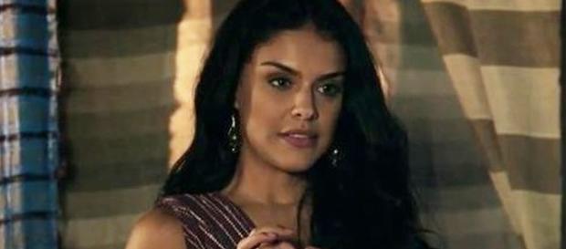 Samara e Léia armam para afastar Aruna de Josué
