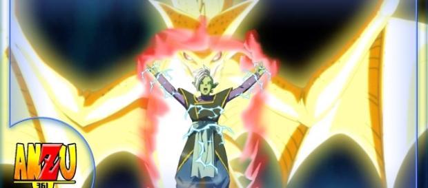 Zamasu consigue las super esferas del dragon.
