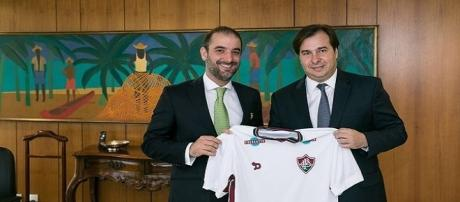 Trengrouse viaja a a Brasília por reconhecimento de Copa Rio (Foto: Globo.com)