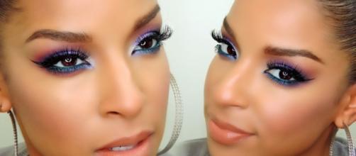 Get The Look: Purple Smokey eye | Beauty by Lee - beautybylee.com