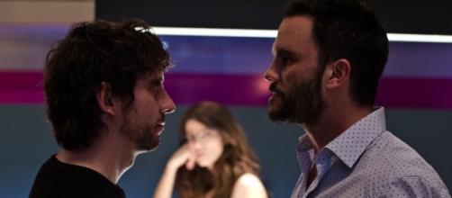Paco León y Juan Pablo Raba en una escena de la película