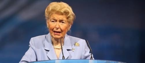 Phyllis Schlafly, 92, has passed away. (Flickr)