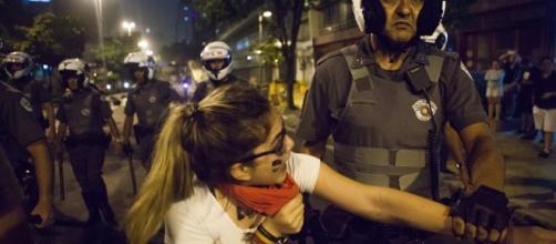 PM tem sido orientada a agir com truculência contra manifestantes